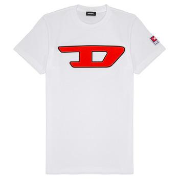 Odjeća Djeca Majice kratkih rukava Diesel TJUSTDIVISION Bijela