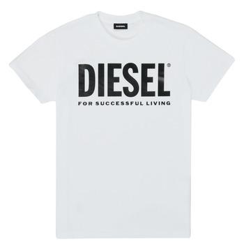 Odjeća Djeca Majice kratkih rukava Diesel TJUSTLOGO Bijela