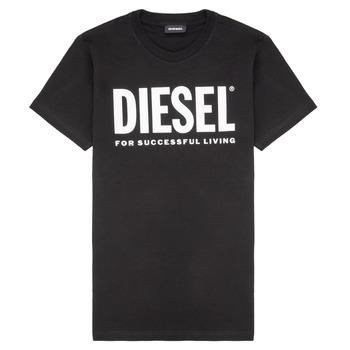 Odjeća Djeca Majice kratkih rukava Diesel TJUSTLOGO Crna
