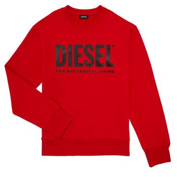 Odjeća Dječak  Sportske majice Diesel SCREWDIVISION LOGO Red