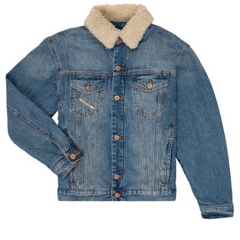 Odjeća Dječak  Traper jakne Diesel JRESKY Blue