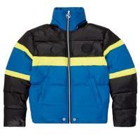 Odjeća Dječak  Pernate jakne Diesel JMARTOS Crna / Blue / Žuta