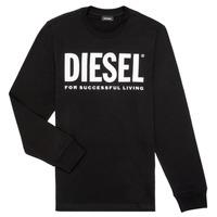 Odjeća Dječak  Majice dugih rukava Diesel TJUSTLOGO ML Crna