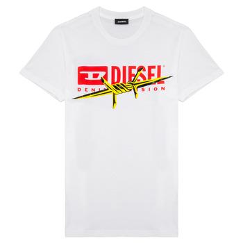 Odjeća Dječak  Majice kratkih rukava Diesel TDIEGOBX2 Bijela