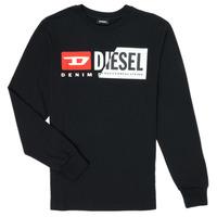 Odjeća Djeca Majice dugih rukava Diesel TDIEGOCUTY Crna