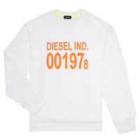 Odjeća Djeca Sportske majice Diesel SGIRKJ3 Bijela