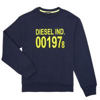 Odjeća Djeca Sportske majice Diesel SGIRKJ3 Blue