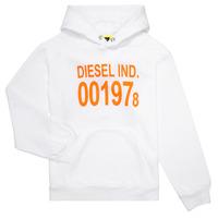 Odjeća Djeca Sportske majice Diesel SGIRKHOOD Bijela