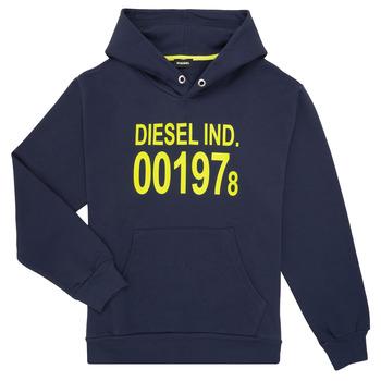 Odjeća Djeca Sportske majice Diesel SGIRKHOOD Blue