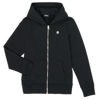 Odjeća Dječak  Sportske majice Diesel SROGER Crna