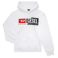 Odjeća Djeca Sportske majice Diesel SGIRKHOODCUTY Bijela