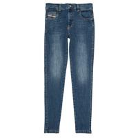 Odjeća Djevojčica Slim traperice Diesel D-SLANDY HIGH Blue