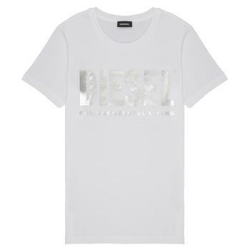 Odjeća Djevojčica Majice kratkih rukava Diesel TSILYWX Bijela