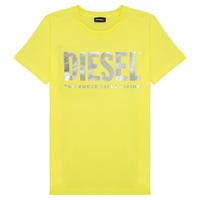 Odjeća Djevojčica Majice kratkih rukava Diesel TSILYWX Žuta
