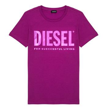 Odjeća Djevojčica Majice kratkih rukava Diesel TSILYWX Ružičasta
