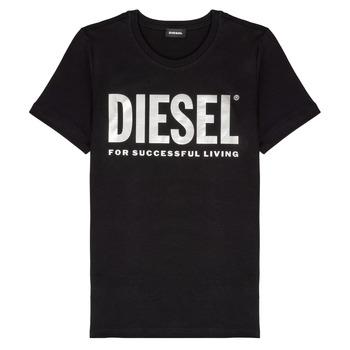Odjeća Djevojčica Majice kratkih rukava Diesel TSILYWX Crna