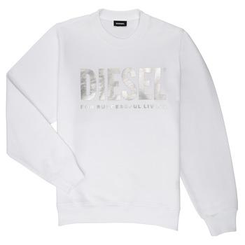 Odjeća Djevojčica Sportske majice Diesel SANGWX Bijela