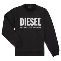 Odjeća Djevojčica Sportske majice Diesel SANGWX Crna