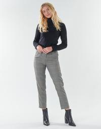 Odjeća Žene  Hlače s pet džepova Freeman T.Porter SHELBY MERCURY Siva