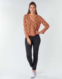 Odjeća Žene  Hlače s pet džepova Freeman T.Porter ALEXA CROPPED S-SDM Crna