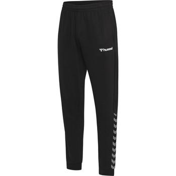 Odjeća Muškarci  Donji dio trenirke Hummel Pantalon  hmlAUTHENTIC noir/blanc