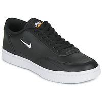 Obuća Žene  Niske tenisice Nike COURT VINTAGE Crna / Bijela