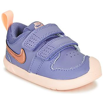 Obuća Djevojčica Niske tenisice Nike PICO 5 TD Ljubičasta / Ružičasta
