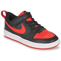 Obuća Djeca Niske tenisice Nike COURT BOROUGH LOW 2 PS Crna / Red