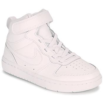Obuća Djeca Niske tenisice Nike COURT BOROUGH MID 2 PS Bijela