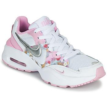 Obuća Djevojčica Niske tenisice Nike AIR MAX FUSION SE GS Bijela / Ružičasta