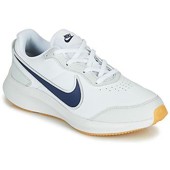 Obuća Dječak  Niske tenisice Nike VARSITY LEATHER GS Bijela / Blue