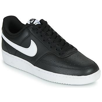 Obuća Muškarci  Niske tenisice Nike COURT VISION LOW Crna / Bijela