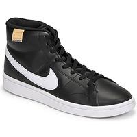 Obuća Muškarci  Visoke tenisice Nike COURT ROYALE 2 MID Crna / Bijela