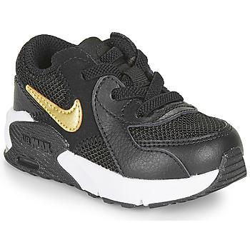 Obuća Djeca Niske tenisice Nike AIR MAX EXCEE TD Crna / Gold