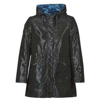Odjeća Žene  Parke One Step FR42001 Crna