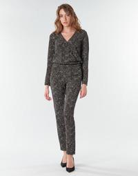 Odjeća Žene  Kombinezoni i tregerice One Step FR32021_02 Crna
