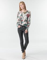 Odjeća Žene  Hlače s pet džepova One Step FR29031_02 Crna