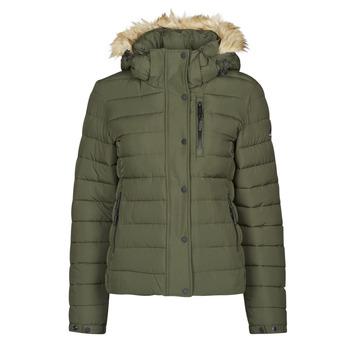 Odjeća Žene  Pernate jakne Superdry CLASSIC FAUX FUR FUJI JACKET Tmavá