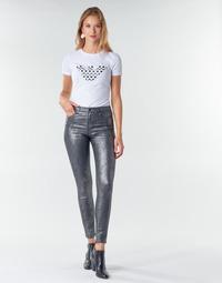 Odjeća Žene  Hlače s pet džepova Emporio Armani 6H2J20 Siva / Srebrna