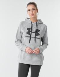 Odjeća Žene  Sportske majice Under Armour RIVAL FLEECE LOGO Siva