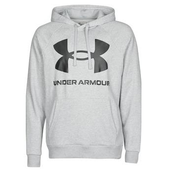 Odjeća Muškarci  Sportske majice Under Armour UA RIVAL FLEECE BIG LOGO HD Siva / Svijetla
