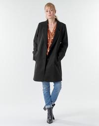 Odjeća Žene  Kaputi Esprit LL* BASICBLZRCT Crna