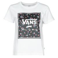 Odjeća Žene  Majice kratkih rukava Vans BOXED IN BOXY Bijela