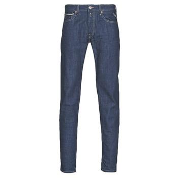Odjeća Muškarci  Traperice ravnog kroja Replay GROVER Blue / Zagasita