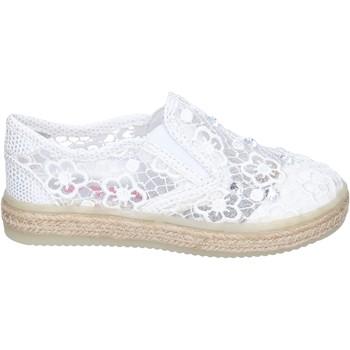 Obuća Djevojčica Slip-on cipele Asso slip on tessuto Bianco
