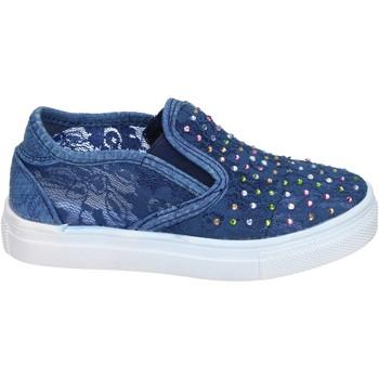 Obuća Djevojčica Slip-on cipele Asso slip on tessuto Blu