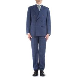 Odjeća Muškarci  Odijela Cesare Attolini S20WA30 B12 Blue