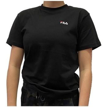 Odjeća Žene  Majice kratkih rukava Fila Eara Tee Crna