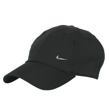 Tekstilni dodaci Šilterice Nike U NSW H86 METAL SWOOSH CAP Crna / Srebrna