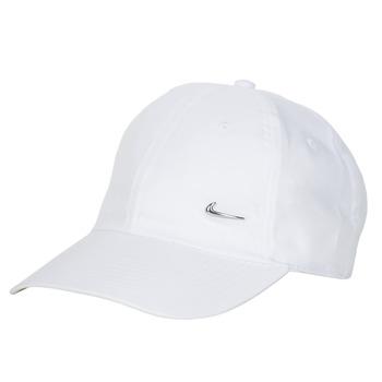 Tekstilni dodaci Šilterice Nike U NSW H86 METAL SWOOSH CAP Bijela / Srebrna